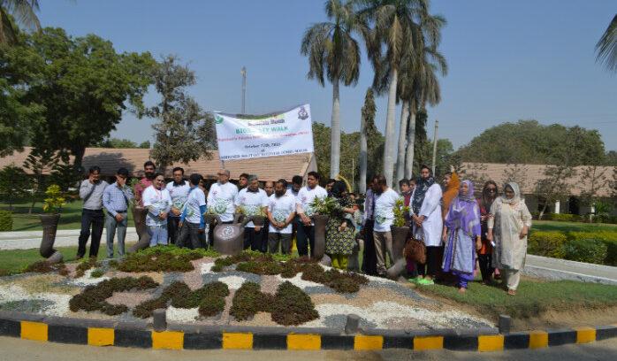 Biosafety Walk Karachi